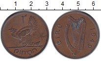 Изображение Монеты Ирландия 1 пенни 1949 Бронза XF