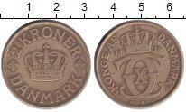 Изображение Монеты Европа Дания 2 кроны 1926 Латунь XF
