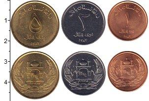 Изображение Наборы монет Азия Афганистан Афганистан 1383 2002  UNC