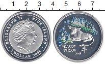 Изображение Монеты Новая Зеландия Ниуэ 1 доллар 2008 Серебро Proof-