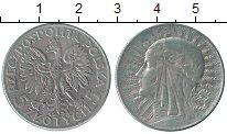 Изображение Монеты Европа Польша 5 злотых 1934 Серебро XF