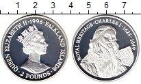 Изображение Монеты Великобритания Фолклендские острова 2 фунта 1996 Серебро Proof