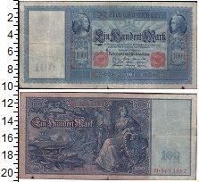 Изображение Банкноты Европа Германия 100 марок 1910  XF-