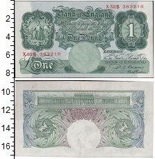Изображение Банкноты Великобритания 1 фунт 0  XF+