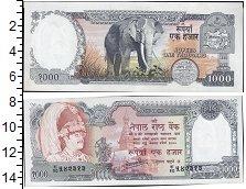 Изображение Банкноты Азия Непал 1000 рупий 0  XF