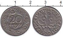 Изображение Дешевые монеты Польша 20 грош 1923 Алюминий F