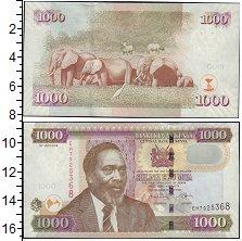 Изображение Банкноты Кения 1000 шиллингов 2010  UNC-