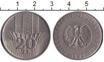 Изображение Дешевые монеты Европа Польша 20 злотых 1976  F