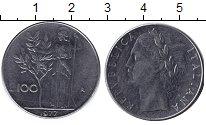 Изображение Дешевые монеты Европа Италия 100 лир 1977 Железо F