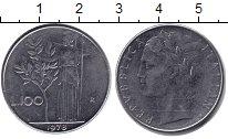 Изображение Дешевые монеты Италия 100 лир 1978 Железо F