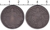 Изображение Монеты Европа Ватикан 2 джулио 1758 Серебро VF