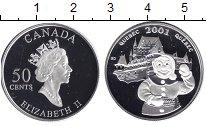 Изображение Монеты Северная Америка Канада 50 центов 2001 Серебро Proof-