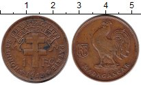 Изображение Монеты Камерун 1 франк 1943 Медь XF