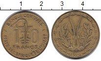 Изображение Монеты Западная Африка 10 франков 1976 Медь XF Протекторат Франции.