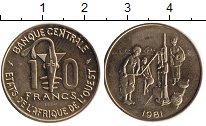 Изображение Монеты Западная Африка 10 франков 1981 Медь XF ПРОБА