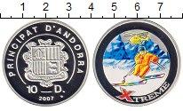 Изображение Монеты Андорра 10 динерс 2007 Серебро XF