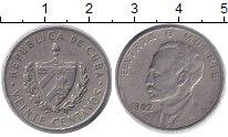 Изображение Монеты Северная Америка Куба 20 сентаво 1962 Медно-никель XF