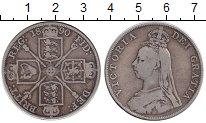 Изображение Монеты Европа Великобритания 2 флорина 1890 Серебро VF
