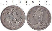 Изображение Монеты Европа Великобритания 1 крона 1890 Серебро VF