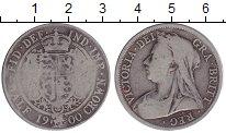 Изображение Монеты Европа Великобритания 1/2 кроны 1900 Серебро
