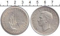 Изображение Монеты Африка ЮАР 5 шиллингов 1952 Серебро XF