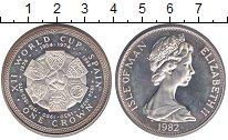 Изображение Монеты Великобритания Остров Мэн 1 крона 1982 Медно-никель XF