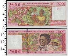 Изображение Банкноты Мадагаскар 25000 франков 0  UNC