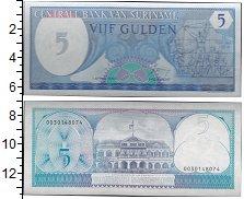 Изображение Банкноты Южная Америка Суринам 5 гульденов 1982  UNC