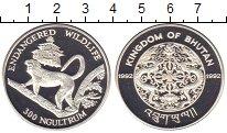 Изображение Монеты Азия Бутан 300 нгултрум 1992 Серебро Proof