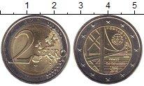 Изображение Мелочь Европа Португалия 2 евро 2016 Биметалл UNC