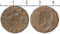 Изображение Монеты Европа Великобритания 3 пенса 1943 Медь XF
