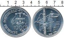 Изображение Монеты Португалия 1000 эскудо 1994 Серебро UNC-