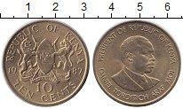 Изображение Монеты Кения 10 центов 1987 Медь XF Daniel Toroitich Ara