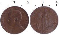 Изображение Монеты Италия 2 сентесимо 1917 Медь XF