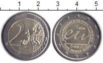 Изображение Монеты Бельгия 2 евро 2010 Биметалл UNC- Председательство Бел