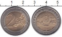 Изображение Мелочь Германия 2 евро 2007 Биметалл UNC-