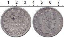 Изображение Монеты Франция 5 франков 1838 Серебро XF