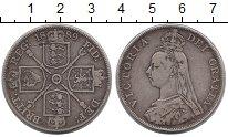 Изображение Монеты Европа Великобритания 1 флорин 1889 Серебро XF