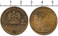 Изображение Мелочь Польша 2 злотых 2005 Медь UNC- Влоцлавек.