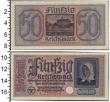 Изображение Банкноты Третий Рейх 50 марок 0  UNC-