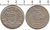 Изображение Монеты Мозамбик 20 эскудо 1952 Серебро XF