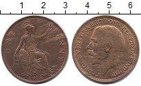 Изображение Монеты Европа Великобритания 1 пенни 1918 Медь XF