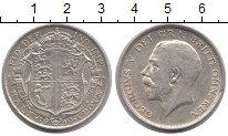 Изображение Монеты Великобритания 1/2 кроны 1919 Серебро XF
