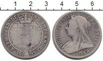 Изображение Монеты Европа Великобритания 1/2 кроны 1899 Серебро VF