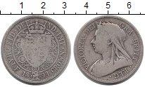 Изображение Монеты Европа Великобритания 1/2 кроны 1893 Серебро VF