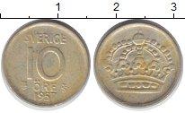 Изображение Монеты Швеция 10 эре 1957 Серебро XF