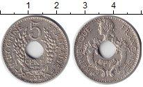 Изображение Монеты Индокитай 5 центов 1939 Медь XF