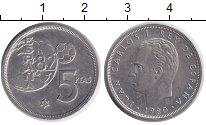 Изображение Дешевые монеты Испания 5 песет 1982 Медно-никель XF