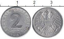 Изображение Дешевые монеты Европа Австрия 2 гроша 1957 Алюминий XF