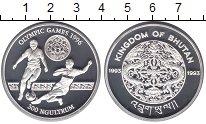 Изображение Монеты Бутан 300 нгултрум 1993 Серебро Proof-